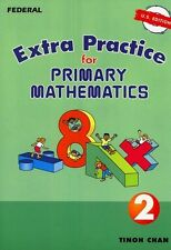 Extra Practice for Primary Math U.S. Edition 2 -FREE Expedited Upgrade with $45