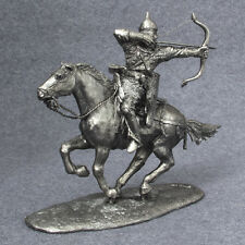 Medieval 1/32 Russian Bowman Horseback Cavalry Miniature Figure TOY SOLDIER 54mm