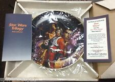 """New """"Star Wars"""" from the Star Wars Trilogy Plate Collection"""