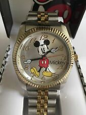 New Disney Mickey mouse MEN t.tone watch, new/warranty/box, plus FREE GIFT