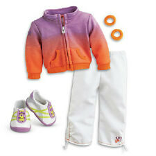 American Girl McKenna's WARM UP OUTFIT track Jacket Pants SET for McKenna Doll
