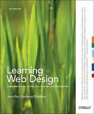 New Learning Web Design: A Beginner's Guide to HTML, CSS, JavaScript
