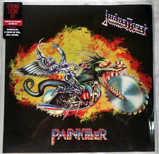 "Judas Priest ‎- Painkiller - Blue Vinyl Sawblade 10"" LP - RECORD STORE DAY RSD"