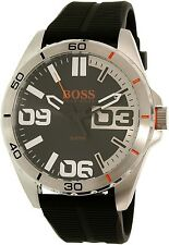 Hugo Boss Men's Berlin 1513285 Black Silicone Quartz Watch