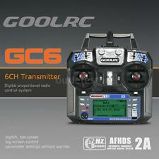 GoolRC GC6 2.4G 6CH AFHDS2A Transmitter Mode 2 and GC-6 6CH Receiver Y2J3