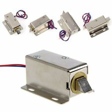 Lock Tongue Upward Luggage Solenoid DC12V Electric Solenoid Assembly Door Drawer