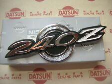 DATSUN 240Z Early Roof Pillar Side Emblem Genuine (Fits NISSAN Fairlady 260Z)