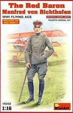 MiniArt Roter Red Baron Manfred Richthofen Fliegerass Bausatz 1:16 Flying Ace