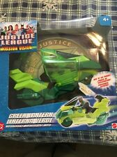 Justice League Unlimited Mission Vision GREEN LANTERN MOTORCYCLE DC JLU cycle