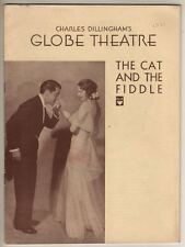 "Playbill  ""The Cat and the Fiddle"" 1931  Broadway  Jerome Kern & Otto Harbach"