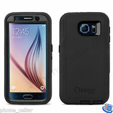 OEM Otterbox Defender Series Black Shell Case for Samsung Galaxy S6