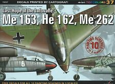 Kagero Mini Topcolors 37: Last Hope of the Luftwaffe Me 163, He 162, Me 262