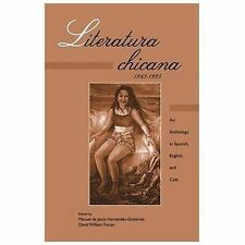 Literatura Chicana, 1965-1995 : An Anthology in Spanish, English, and -ExLibrary