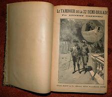 Ernest Capendu L'Hotel de Niorres 4 vols. Rouff compl.
