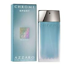 Azzaro Chrome Sport EDT For Men 100ml / 3.4oz New & Sealed ✰Free Shipping✰