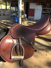 "Thornhill Germania 2-phase Jumping Saddle 17.5"" Seat"