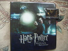 Harry Potter and the Prisoner of Azkaban Folder/ Binder and 2 Promo Cards