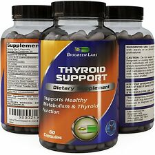 Natural Thyroid Support Dietary Supplement Improve Thyroid Function Powerful for