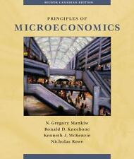 Principles of Microeconomics : Canadian Edition by N. Gregory Mankiw (2002,...