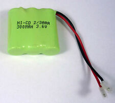 3.6V 300mAh Cordless Phone Rechargeable Battery Pack Sanik 3SN2/3AAA30HSJP1 84H