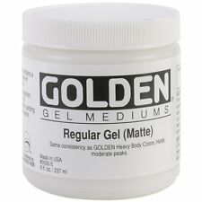 Pro-Art Mediums Golden Regular Matte Gel Medium-8 oz