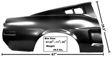 Mustang Quarter Panel Fastback Full with Indent RH 1968 - Dynacorn