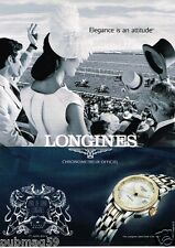 Publicité advertising 2012 La Montre Longines Saint Imier Collection