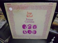 Fairport Convention Liege & Lief LP A&M 1970 brown label VG+