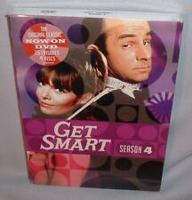 DVD GET SMART SEASON FOUR (4) 4 DISCS  NEW MINT SEALED