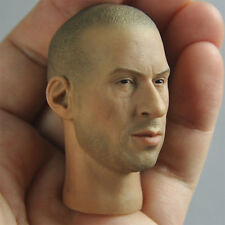 "1/6 scale Head Sculpt Vin Diesel Fast & Furious 7 DominicToretto Fit 12"" figure"