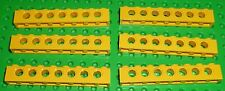 LEGO - TECHNIC - YELLOW - BRICK, 1 x 8  - x 6 (3702) TK115