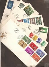 Israel 1955 Complete Year FDC Set