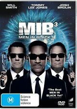 MEN IN BLACK 3 Will Smith / Tommy Lee Jones DVD R4 New / Sealed