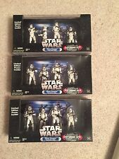 Star Wars Hasbro Clone Trooper Troop Builder 4-Pack 3.75""