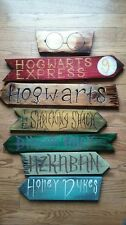 HARRY POTTER DIRECTION SIGN ART IMAGE  A4 Poster Laminated Gloss Print (New)