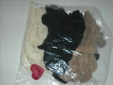 Lot of 20 Pairs Fliratious Non-Run Knee Highs 100% Nylon  Made USA New