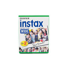 1 Pack 20 Instant Photos Fuji FujiFilm Instax Wide Film Polaroid Camera 200 210