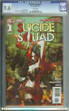 SUICIDE SQUAD #1 CGC 9.6 WHITE PAGES
