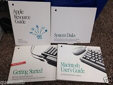 APPLE MACINTOSH vintage QUADRA 650 COMPUTER original Manual guide book Disc RARE