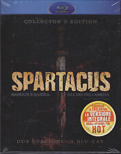 7 Blu-ray Cofanetto «SPARTACUS ♦ SANGUE E SABBIA + GLI DEI DELL'ARENA» complete