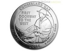 America the Beautiful ATB Cumberland Gap National Kentucky 5 OZ argent usa 2016