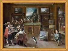 A visit to the art dealer Frans II Francken images peintures professions B a2 01880