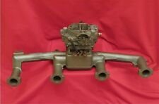 1952 BUICK ROADMASTER 320 4bbl Intake Carter Airpower Carb One Year Only Rare