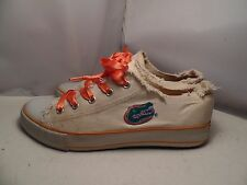 University of Florida Gators Womens 10 Embroidered Canvas Spirit Ready Sneakers
