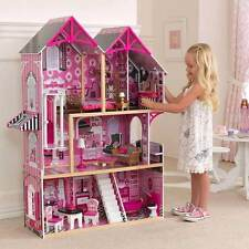 KIDKRAFT COUTURE WOODEN KIDS DOLLHOUSE DOLLS HOUSE & FURNITURE  BARBIE