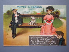 R&L Postcard: Birn Bros BB, Moods & Tenses, Edwardian, Bulldog, Glamour Beauty