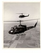 Bell Huey Navy Helicopter Bell Company Photograph 8x10 BW