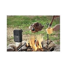 Camping Spit Rotisserie Fire Pit Grill Roast Outdoor Backyard Cooking Portable