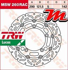 Disque de frein Avant TRW MSW 260 RAC Suzuki GSF 650 A, SA, Bandit ABS WVB5 2006