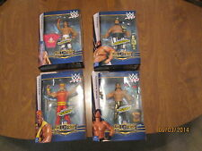 WWE Elite Hall Of Fame SET series 2 YOKOZUNA, SANTANA,GUERRERO COMPLETE MATTEL